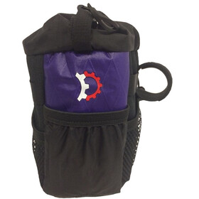 Revelate Designs Mountain Feedbag Borsello viola/nero